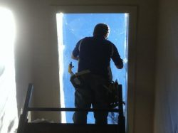 ameritint-installer-applying-film-to-skylight