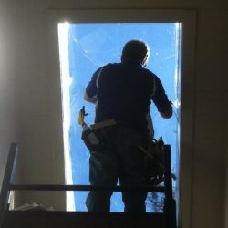 Window Film on Skylight