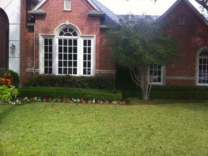 Replacement windows on a Grapevine, TX home